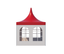 Шатры Пагода с острой крышей Стандарт 3х3 Схема 1