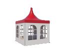 Шатры Пагода с острой крышей Стандарт 3х3 Схема 2