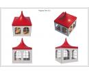 Шатры Пагода с острой крышей Стандарт 3х3 Схема 4