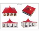Шатёр Пагода Стандарт 8х8 Схема 4