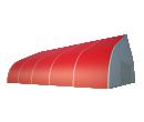 Тентовый ангар 20х25 Схема 1