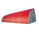 Тентовый ангар 25х25 Схема 1
