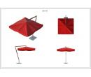 Зонт Premium Side 3х3 Схема 1